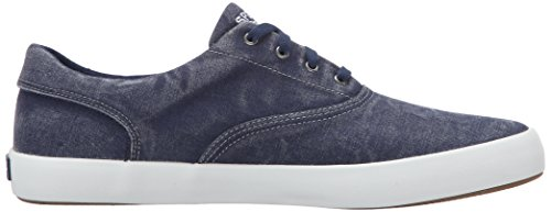 Sperry Top-sider Mens Wahoo Cvo Fashion Sneaker Blu Scuro