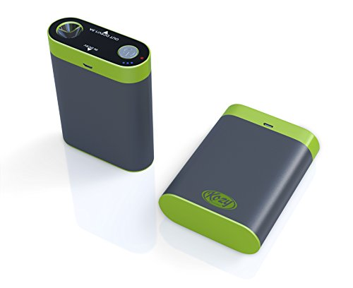 Kozy 7800mAh Rechargeable Hand Warmer provides Comfortable, Soothing Warmth for Hours, Includes Bonus Warmer Pouch, USB Charger/Power Bank, and LED Flashlight & Emergency SOS, Full 1 Year Warranty