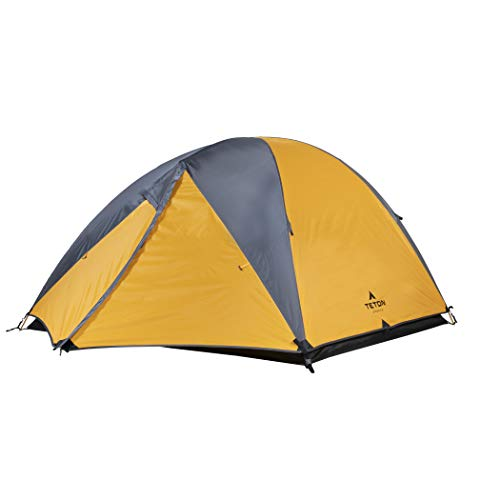 TETON Sports Mountain Ultra 4 Person Tent; Backpacking Dome Tent; Great for Camping; Waterproof Tent with Footprint Included ()