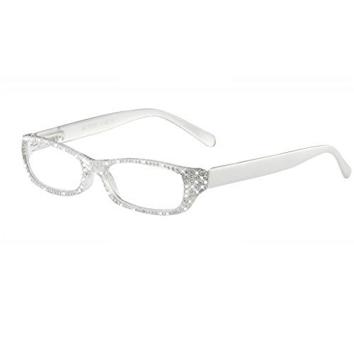 I Heart Eyewear Frost Sparkle Reading Glasses, - Glasses Company Hipster