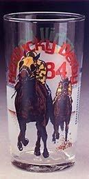Official 1984 Kentucky Derby Churchill Downs Mint Julep Glass