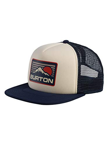 Burton Unisex I-80 Trucker Hat, Mood Indigo, One Size
