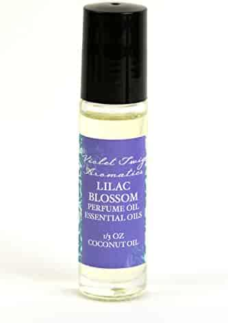 Lilac Blossom Perfume Oil 1/3oz - Rollerball Perfumes - Natural Rollerball Fragrances - Lilac Floral Fragrance - Women's Essential Fragrance Oils - Fragrance Roll On - Natural Perfume Roll On - Natural Lilac Perfume - Perfumes For Women - Rollerball Fragrance for Teen Girls - Fragrances - Rollerball Perfume - Floral Perfume - Natural Rollerball Fragrance - Rollerball - Fragrance Roll On For Women - Teens - Girls - 1/3oz Rollerball Lilac Blossom Perfume