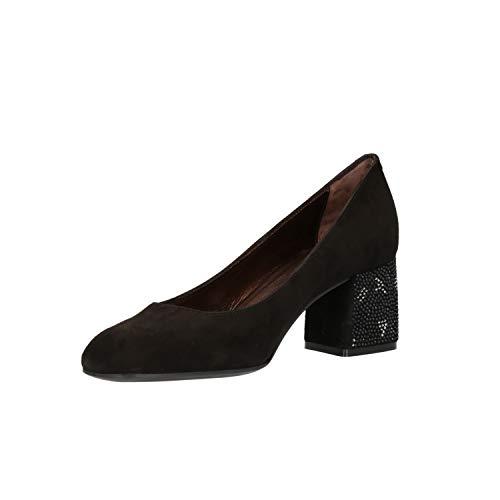 Scarpe Elegante Nero Donna Décolleté D5134e Melluso 4wqZz5Sw