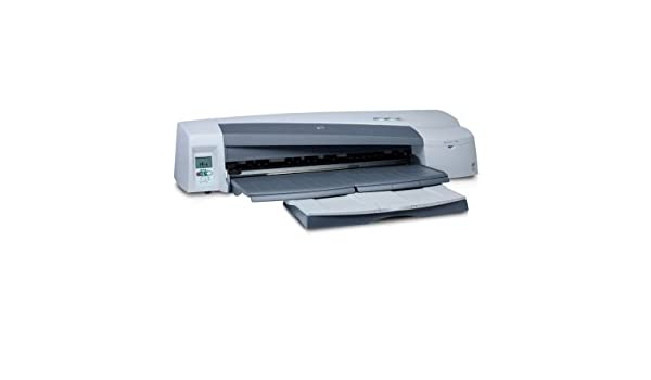 HP Designjet 110plus nr Printer - Impresora de gran formato (7000 páginas por mes, HP Designjet System Maintenance, 625 mm through front manual feed path, 5 mm, 100 mm, 4 (1 each