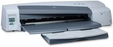 HP Designjet 110plus nr Printer - Impresora de gran formato (7000 páginas por mes, HP Designjet System Maintenance, 625 mm through front manual feed path, 5 mm, 100 mm, 4 (1 each