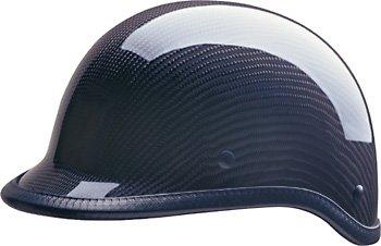 HCI-105 Carbon Fiber 1/2 Polo Style Helmet-XXL]()