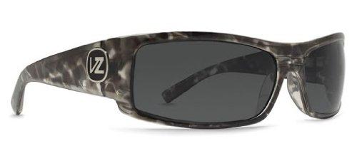 VonZipper Burnout Men's Sports Wear Sunglasses/Eyewear - Urban Gorilla Onyx/Grey / One Size Fits All