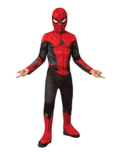 Rubie's Marvel Spider-Man Far from Home Child's Spider-Man Costume & Mask, Small Red/Black -