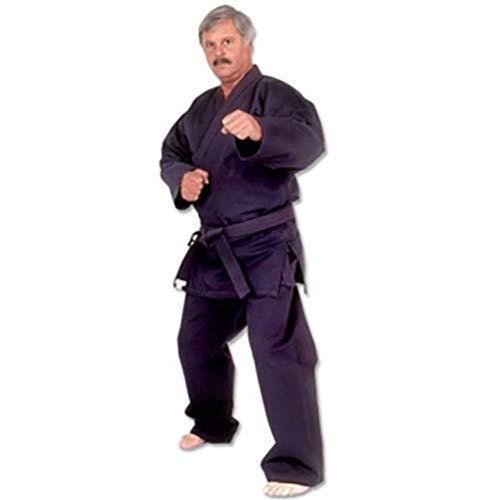 TMAS Hayashi Heavy Weight Karate Uniform, Black, 6 (Heavyweight Karate Gi)