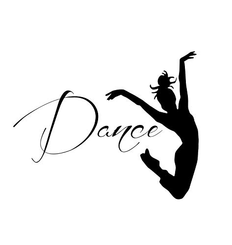 Wall Decals Dancer Dance Quote Decal Sticker Vinyl for sale  Delivered anywhere in USA