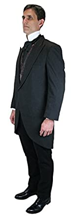 1900s Edwardian Men's Suits and Coats Traditional Cutaway Coat $165.95 AT vintagedancer.com