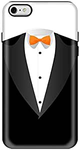 Stylizedd Apple iPhone 6 Plus Premium Dual Layer Tough case cover Gloss Finish - The Tux I6P-T-276