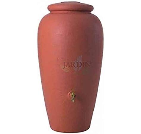 Depósito agua Anfora 300 litros + grifo. Diámetro 68 cm, Alto 129 cm: Amazon.es: Bricolaje y herramientas