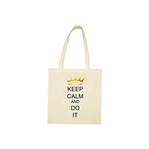 bag it keep beige Tote do calm keep calm awqw0Pd
