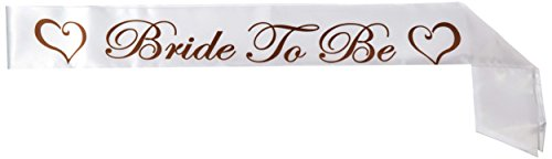 Beistle 60540 Bride To Be Satin Sash, 33