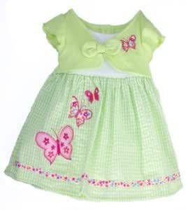 Youngland® Spring Dress - Light Green, Size: 3t [Apparel]
