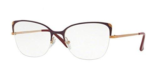 Vogue VO 4077 5072 Bordeaux Metal Cat-Eye Eyeglasses - Vogue Womens Eyeglasses
