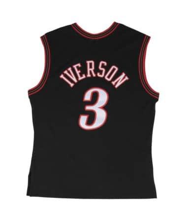 Allen Iverson Philadelphia 76ers Mitchell and Ness Men
