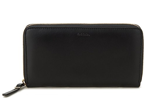 Paul Smith Accessories Leather Zip-Around Calf Leather Purse