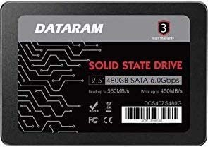 "DATARAM 480GB 2.5"" SSD Drive Solid State Drive Compatible with HP PROBOOK 450 G4 [並行輸入品]"