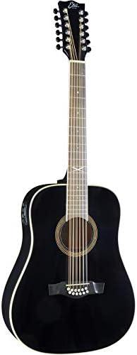 EKO NXT D XII EQ Black Guitarra Acústica 12 cuerdas amplificada ...