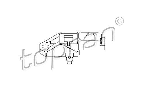 Intake Manifold Pressure Sensor MAP Fits CITROEN FORD PEUGEOT 1.4-2.0L 2000- by TOPRAN