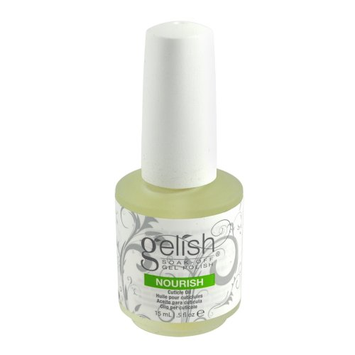 12 Harmony Gelish Nourish Nail Cuticle Hydrating Natural Oil Treatment .5 Bottle by Harmony