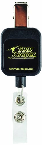 Gear Keeper RT5-5813 Super Badge Retractor with Spring Clip Mount and Fixed End, 40 lbs Breaking Strength, 2.5 oz Force, 36'' Extension by Gear Keeper