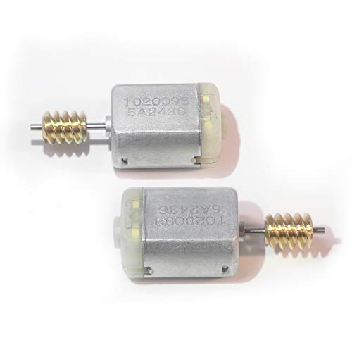 (2 pcs Car Door Lock Actuator Motor FC-280PC Power Locking Repair Engine for Ford Mazda Land Rover Jaguar Volvo Series)