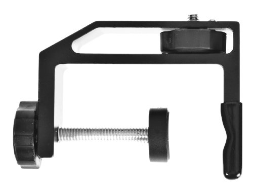 Pedco Base Clamp Attaches Cameras and other Devices/Objects Up to 2.5 Inches Thick