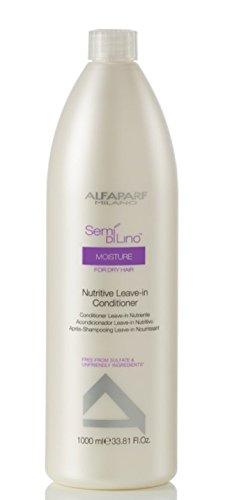 AlfaParf Semi Di Lino Moisture Nutritive Leave-in Conditioner for Dry Hair, 33.81 Ounce