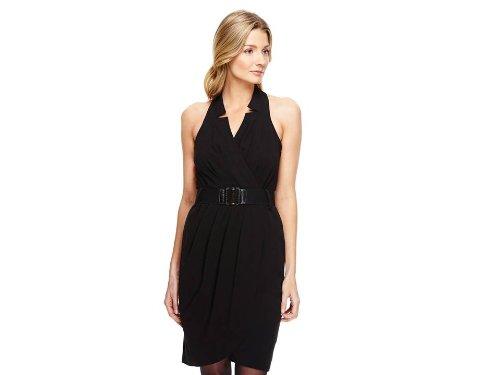 maxandcleo Women's Shawna Belted Dress, Black, 2 (And Dress Cleo Max Black)