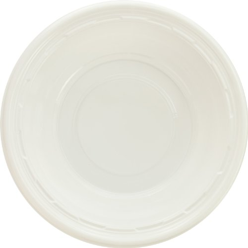 (Dart 12BWWF 10-12 oz White Plastic Bowl (Case of 1000))