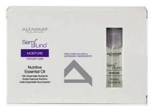 - Alfaparf Semi Di Lino Moisture Nutritive Essential Oil Kit, 6 Count