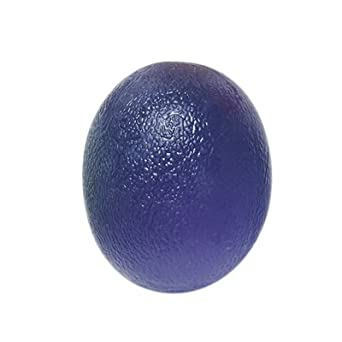 FEI 10-1894 Fabrication Cando Gel Hand Exercise Ball, Large, Egg-Shaped, Blue, Heavy