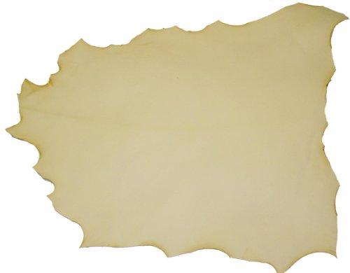 (LeatherUnltd Rawhide Goatskin, 1 oz, 7-8 sq ft)