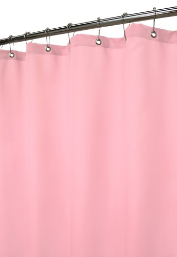 Park B. Smith Dorset Solid Watershed Shower Curtain, Soft Pink