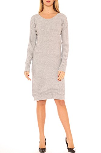 Damen Kleid Grau Grau Damen Kleid Di Key Di Di Key Damen Key FwCYpdq