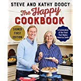 Book cover from The Happy Cookbook - Signed / Autographed Copy by Steve Doocy