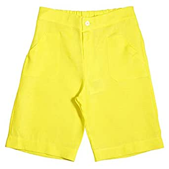 Le Coccole Kids Atelier Yellow Flat Front For Boys