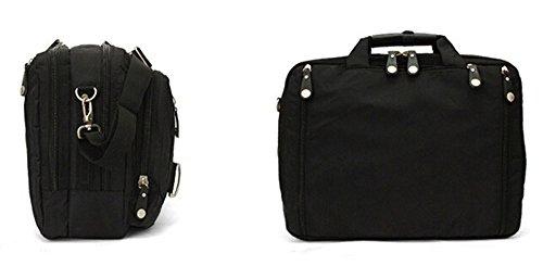 Bronze Times (TM) 17.3 Inch Business Travel Gear Laptop Shoulder Bag Backpack (Black) by Bronze Times (Image #2)
