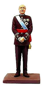 アンドレアミニチュアズ KSE-020 King Juan Carlos