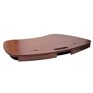 Awesome Euro Wooden Lap Desk With Storage