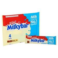 Original Milky Bar White Chocolate Pack imported from the UK England Milkybar White Chocolate British Chocolate Candy