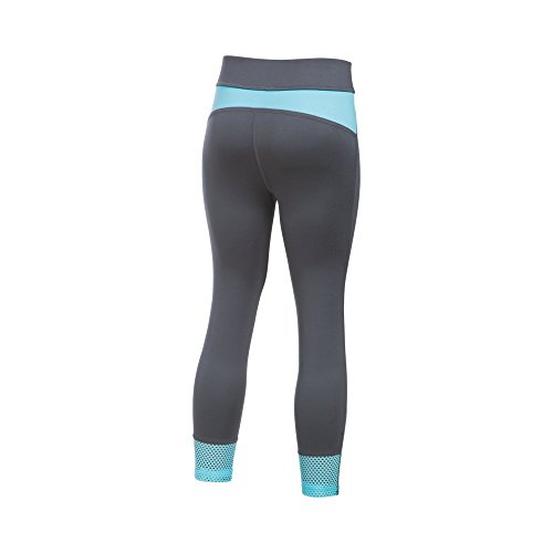 Under Armour Girls' Studio Capri Leggings, Rhino Gray, Youth Small