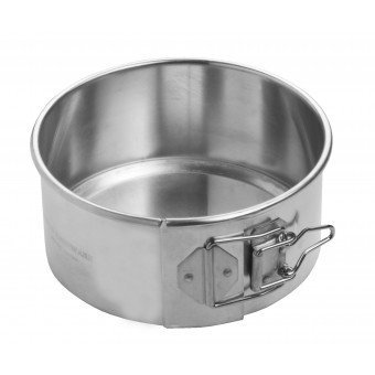 Focus Aluminum 12'' x 3'' Spring Form Cake Pan by Focus Foodservice (Image #1)