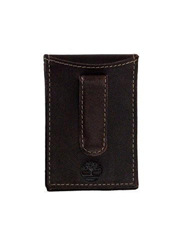 Timberland Men's Delta Minimalist Slim Money Clip Wallet, Brown, One Size (Clip Money Flip)
