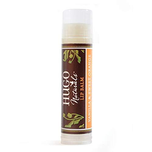 Hugo Naturals Lip Balm, Vanilla & Sweet Orange.15 oz. ()