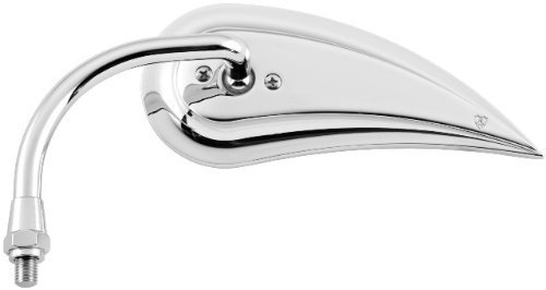 Arlen Ness Teardrop Rad III Mirror (Left) (Chrome)